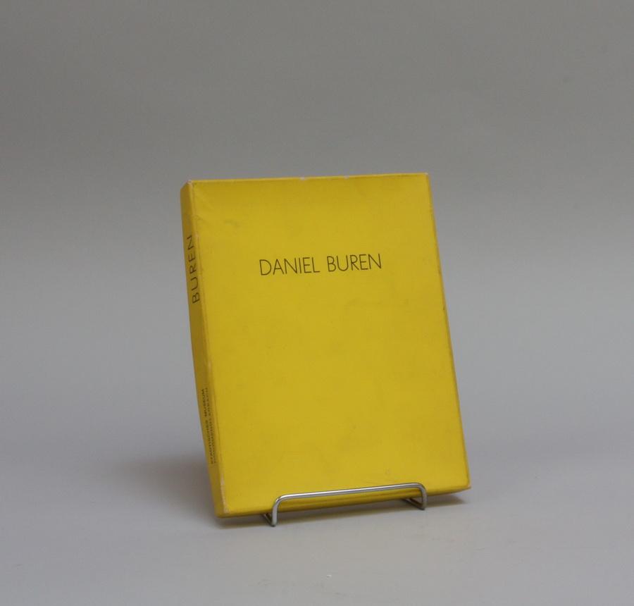 BUREN, DANIEL, 1938 Boulogne-Bilancourt - in Paris tätig