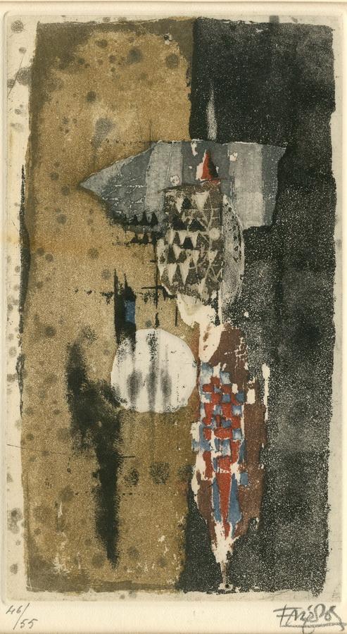 FRIEDLAENDER, JOHNNY, 1912 Pleß/Schlesien - 1992 Paris