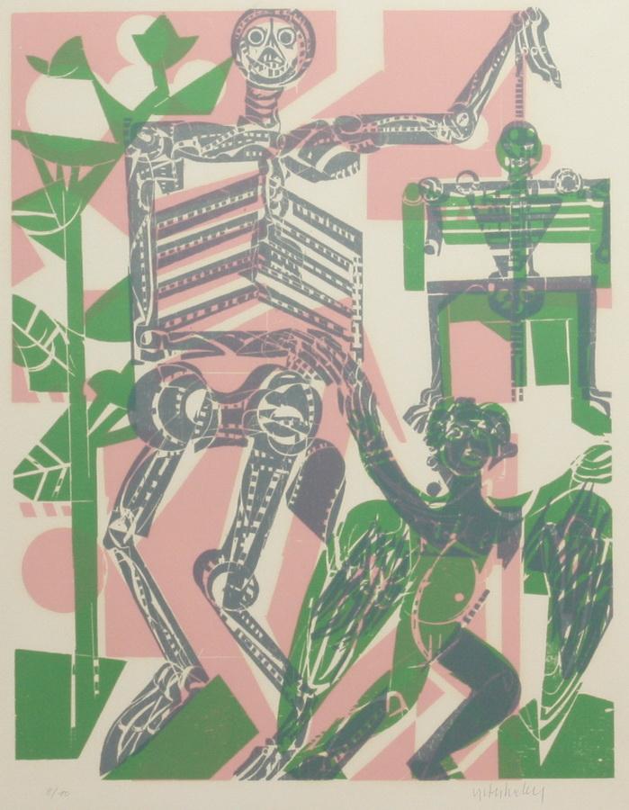 GRIESHABER, H.A.P., 1909 Achalm - 1981 Rot ü. d. Rot