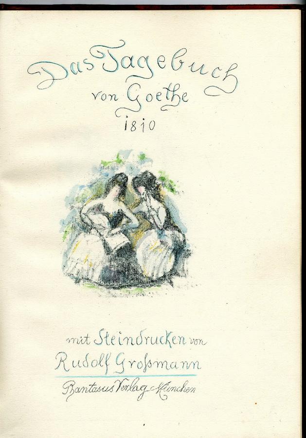 GROSSMANN, RUDOLF, 1882 Freiburg/Breisgau - 1941 Freiburg