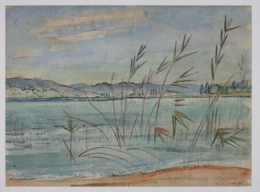 MACKE, HELMUTH, 1891 Krefeld - 1936 Gaienhofen