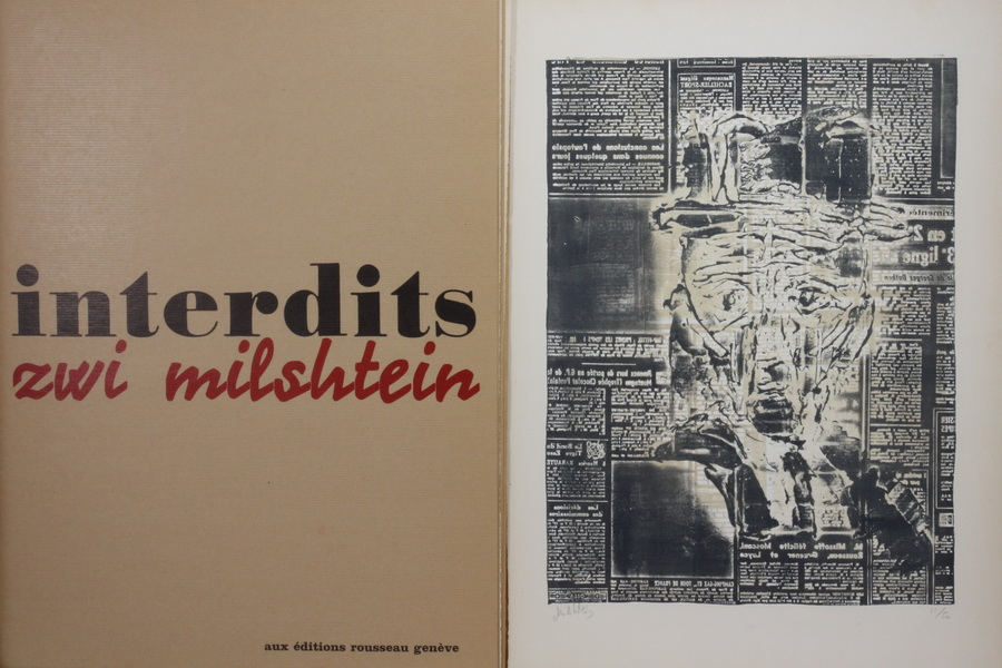 MILSTHEIN, ZWI, 1934  Chisinau/Moldawien - 2020 Gleize/Frankreich