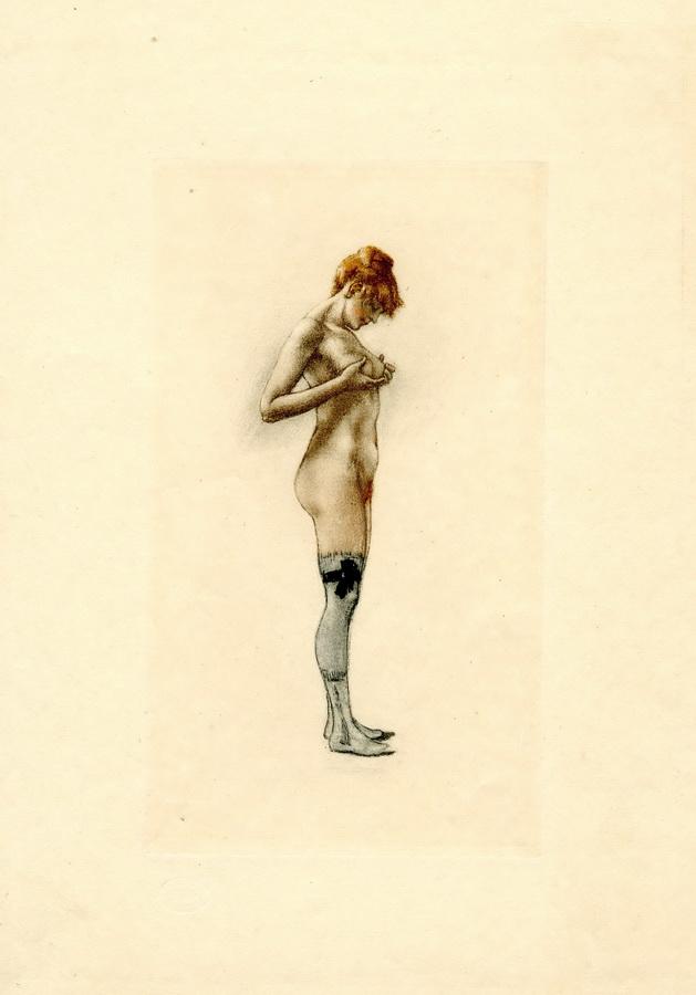ROPS, FELICIEN, 1833 Namur/Belgien - 1898 Essons-Corbeil