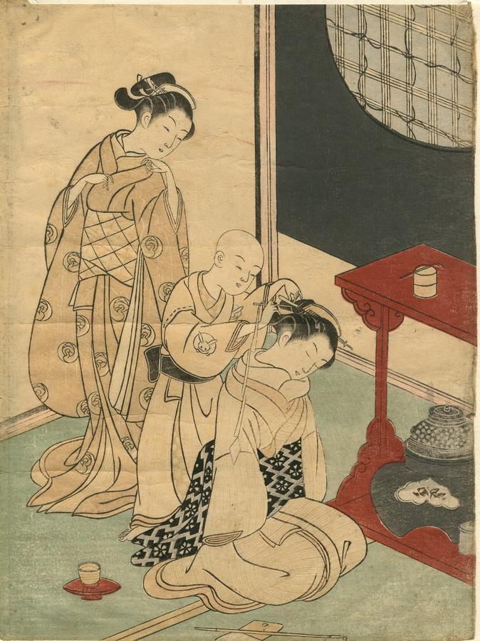 HARUNOBU, SUZUKI, 1724-1770