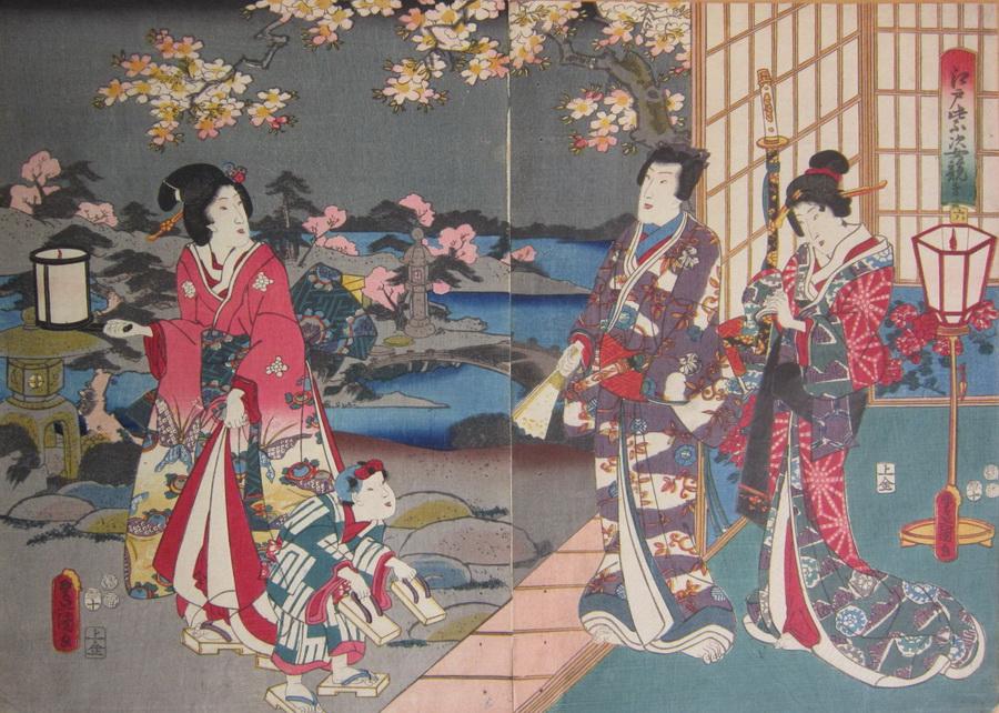 KUNISADA, UTAGAWA, 1786-1864