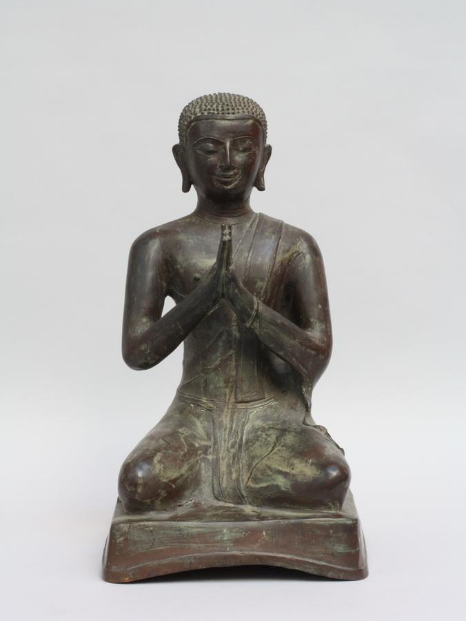 BUDDHISTISCHER MÖNCH, Südostasien 1. H. 20. Jhdt.